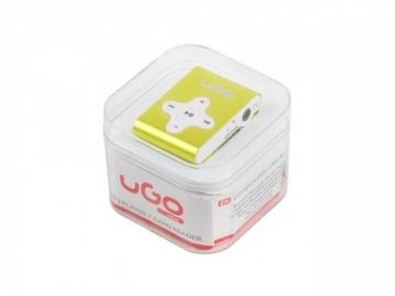 Ausinukas UGO MP3 player UMP-1023 (Micro SD) Yellow MP3 grotuvai, ausinukai