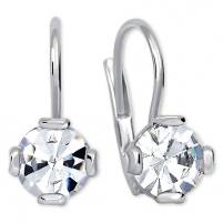 Auskarai Brilio Silver Crystal earrings with crystals 436 001 01768 04 - 1.48 g