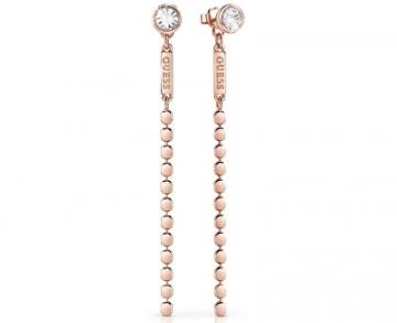 Auskarai Guess Long bronze earrings UBE84123