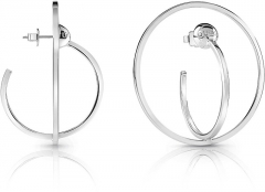 Auskarai Guess Original Earrings Circles Influencer UBE85039