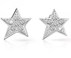 Auskarai Guess The glittering star earrings UBE82013