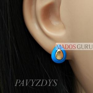 """Earrings """"Drops'' A379"""