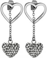 Auskarai Liu.Jo Steel earrings LJ1187