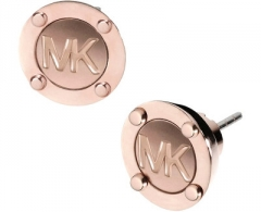 Auskarai Michael Kors Pozlacené luxusní s logem MKJ2987791