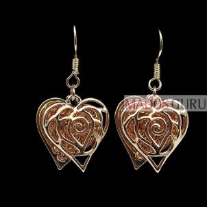 """Earrings """"Hearts'' A266"""