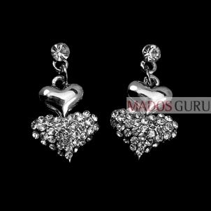 """Earrings """"Hearts'' A269"""