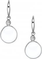Auskarai Skagen Elegantní náušnice SKJ0589040 Earrings
