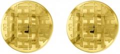 Auskarai Tommy Hilfiger Double Bronze Earrings with Crystals 2780086 Auskari
