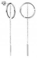 Auskarai Troli Elegant steel earrings