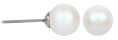 Auskarai Troli Pearlescent White Pearl Earring