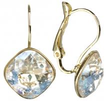 Auskarai Troli Náušnice Square Moonlight Earrings