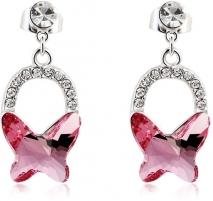 Auskarai Vicca® Náušnice Swing Pink OI_407007_pink Auskari