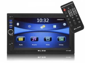 Automagnetola BLOW AVH-9880 2DIN 7 GPS Automagnetolos, FM moduliatoriai
