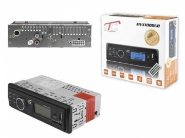Automagnetola CAR PLAYER LTC MVX1000UB FM AUX MICRO SD USB PORT LCD Automagnetolos, FM moduliatoriai
