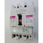 Automatas pramoninis, 3P, 100A, 25kA, atkabiklis šilum./elektromag. 0,63-1/6-12, EB2125/3L, ETI 004671025 380 v, automātisko slēdžu