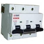 Automatas pramoninis, 3P, 100A, C, BA 47-100, EKF 101076 380 V automatiniai jungikliai