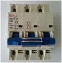 Automatinis išjungiklis 100A 3P 230/400V, 15kA, C 380 V automatiniai jungikliai