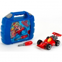 Automechaniko rinkinys su mašina ir atsuktuvu lagamine | Hot Wheels | Klein Toys for boys