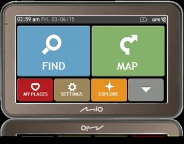 Automobilinė navigacija MIO Car Navigation SPIRIT 7670FEU (5) FULL EUROPE LIFETIME LM GPS navigacinė technika