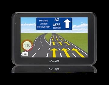 Automobilinė navigacija MIO MiVue Drive 50 Car Navigation FULL EUROPE LM (EEU) GPS navigacinė technika
