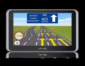 Automobilinė navigacija MIO MiVue Drive 65 Car Navigation FULL EUROPE LM TRUCK GPS navigacinė technika