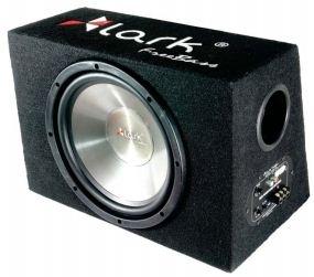 Automobilinės žemų dažnių kolonėlės su dėže Lark FreeBass Cube 10A Active 10 Auto speakers