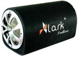 Automobilinės žemų dažnių kolonėlės su dėže Lark FreeBass Tube 8A Active 8 Auto speakers