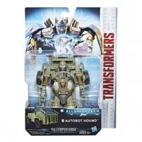 Automobilis C3367 / C3418 Transformers Allspark Tech Autobot Hound Robots rotaļlietas