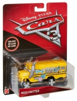 Automobilis Disney Cars DXV94 Cars 3 Deluxe Miss Fritter Vehicle