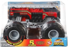 Automobilis GBV34 / FYJ83 Hot Wheels 5 Alarm #2 Monster Truck, 1:24 Scale