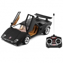 Automobilis su radijo bangomis Doy Lamborghini 993 Black RC automobiliai vaikams