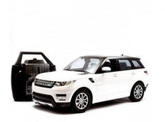 Automobilis su radijo bangomis Doy Range Rover 986 White Rc cars for kids