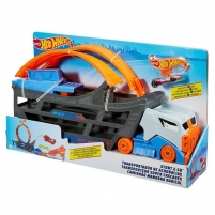 Automobilių trąsa GCL38 Hot Wheels Stunt and Go Track Set MATTEL Car racing tracks for kids
