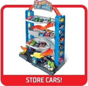Automobilių trąsa GNL70 Hot Wheels Stunt Garage + 1 auto Автомобиль гоночных треков для детей