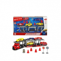 Automobiliukas 203745012 SIMBA DICKIE TOYS AIR PUMP Dickie - City Transporter Set