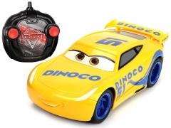 Automobiliukas Cars Car r / c Dinoco Cruz on the RC0556 remote control RC automobiliai vaikams