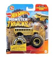 Automobiliukas FYJ44 / GJD88 Hot Wheels Monster Trucks 1:64 Scale Die-Cast Assortment with Giant Wheels