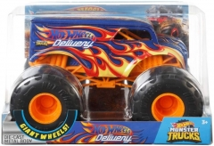 Automobiliukas FYJ83 / GCX23 Hot Wheels Monster Trucks Dairy with Giant Wheels