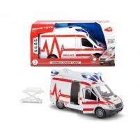 Automobiliukas SMOBY DICKIE 203716011026 Ambulans Van