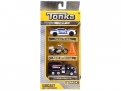 Automobiliukas The Tonka set - police ZA3633