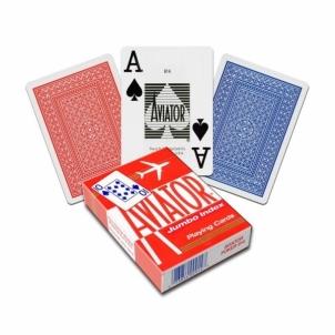 Aviator Jumbo pokerio kortos (Raudonos)