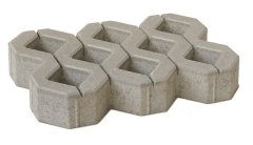 Tracery sidewalk bricks AP1-10 (BM) Sidewalk tiles