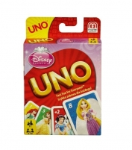 B3280 Mattel kortų kaladė Uno Princesės
