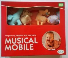 Babico Toys 8122 SAFARI karuselė ant lovelės