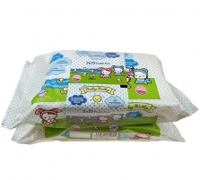 Baby Kitty Cleansing Wipes Cosmetic 144 vnt. Cosmetics for babies