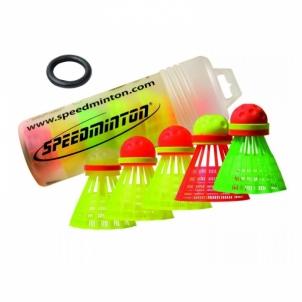 Badmintono muselės Speedertube 5er Mixpack Badmintono muselės
