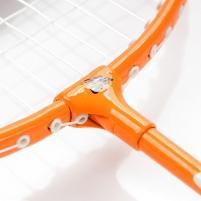 Badmintono raketė METEOR LIGHT 400, Spalva rožinė Badminton racquets