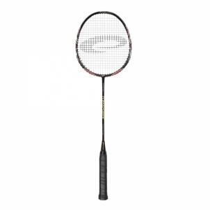 Badmintono raketė TOMAHAWK juoda Badmintono rinkiniai