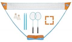 Badmintono rink. GET & GO Instant blue/orange Badminton sets