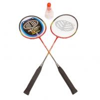 Badmintono rinkinys ROX 1005, 2 raketės + 3 plunksnelės Badmintono rinkiniai